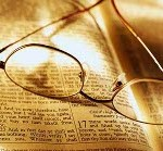 Glasses on Open Bible ca. 2001