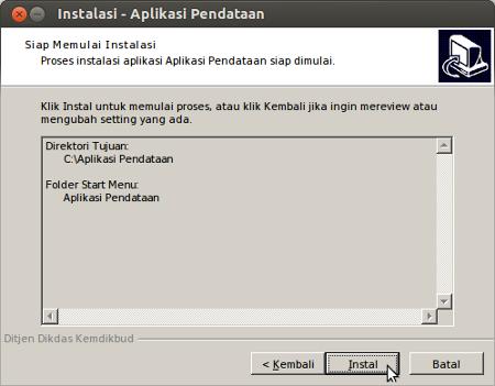 Instalasi - Aplikasi Pendataan_009