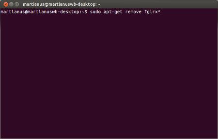 remove fglrx