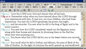Deutronomy 11:2 (GNB)