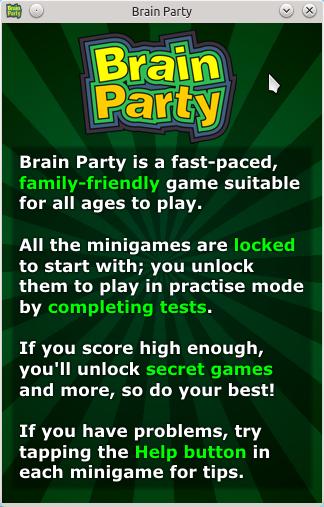 Brain Party Help