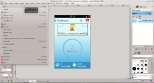 GIMP - New image