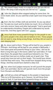 Matius 11:20