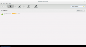 Ubuntu Software Center: Sound Converter