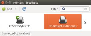 HP 2545 sudah terpasang