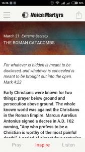 VOM Pray Today - Extreme Devotion