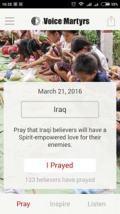 VOM Pray Today - Pokok Doa Harian