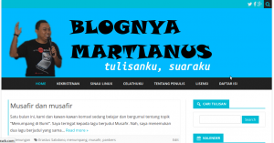 Homepage martianuswb[dot]com