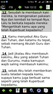 Yohanes 13:12